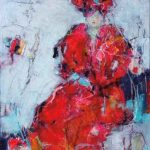 The Woman in Red in the 'House of Blue Nights'