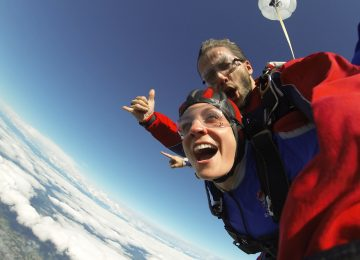 Adrenaline-laced Exhilaration<br><small>Skydiving in Snohomish</small>