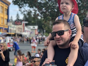Accepting Risk: Firefighter's family on COVID front lines