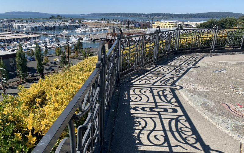 Overlooking Port of Everett Marina