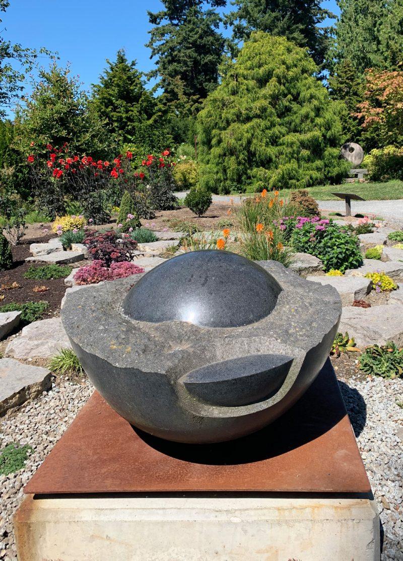 The balancing act sculpture