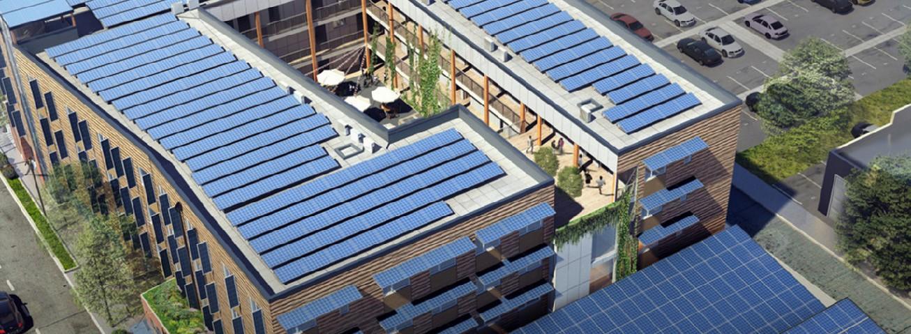 HopeWorks Station Phase II includes solar panels