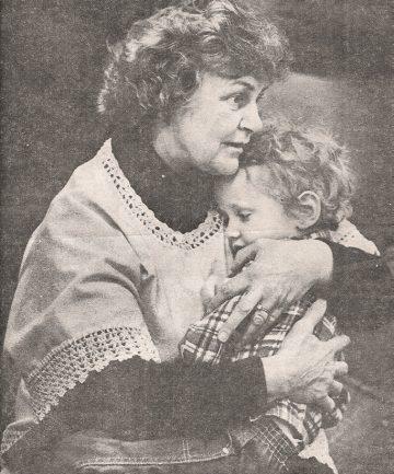 Hazel Venables and her daughter, Leslie