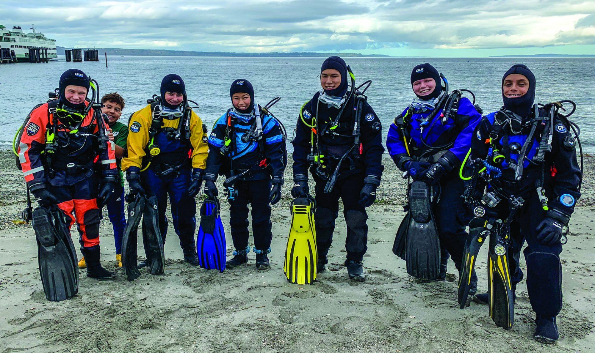 Annie Crawley's Dive Team