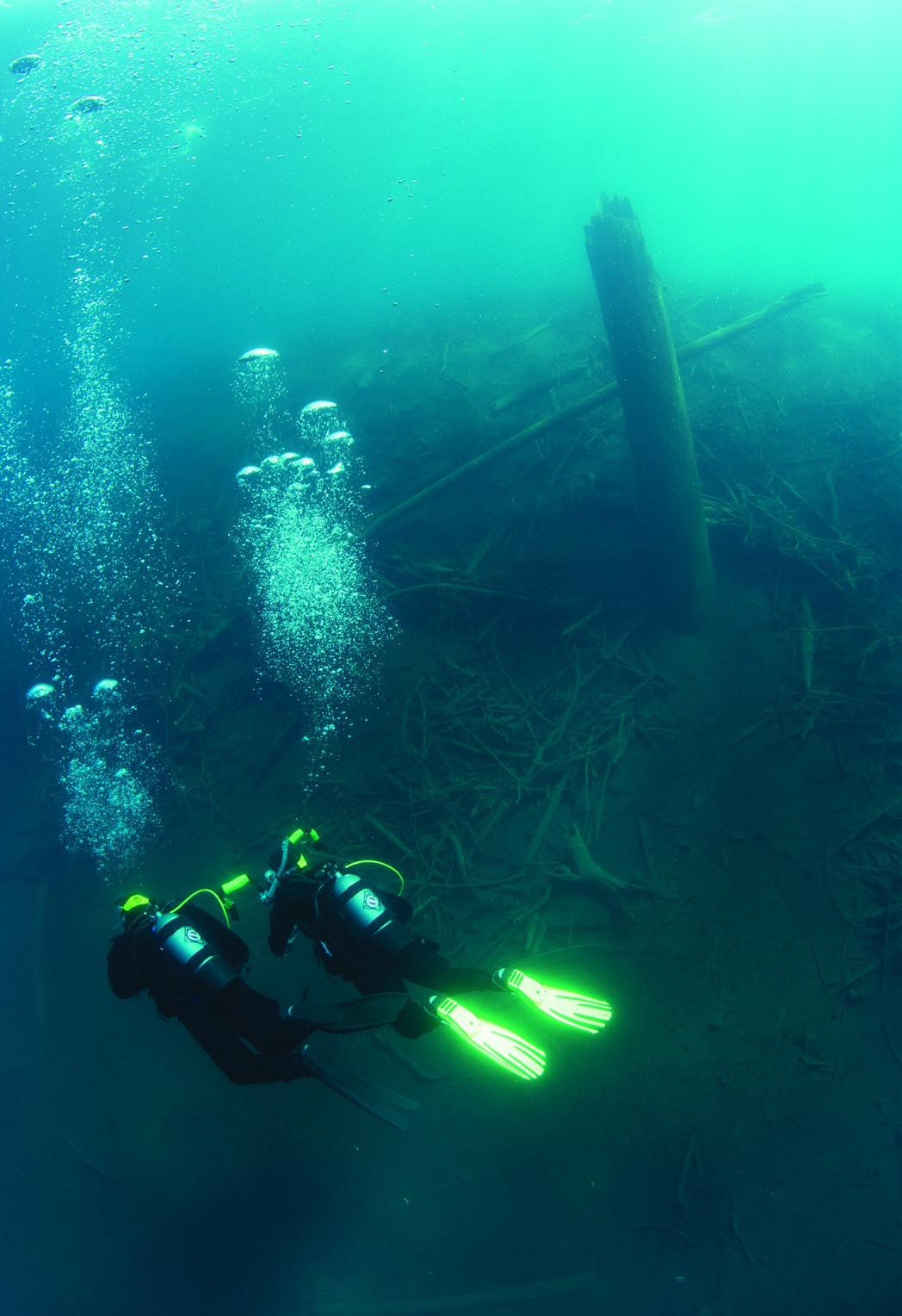 explore underwater in our region