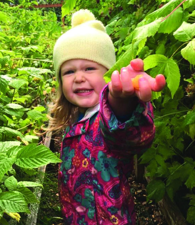 edible gardens with children