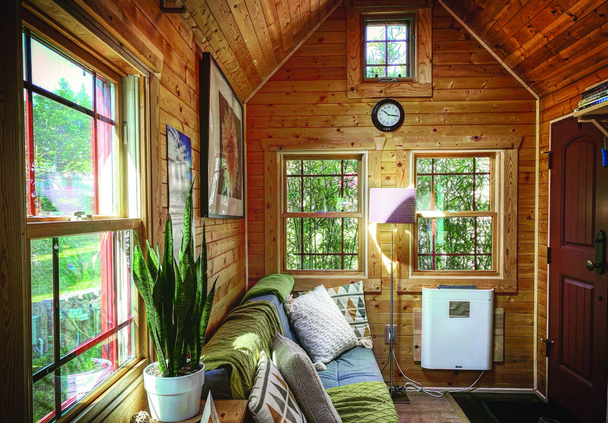 The Tiny Tack House boasts