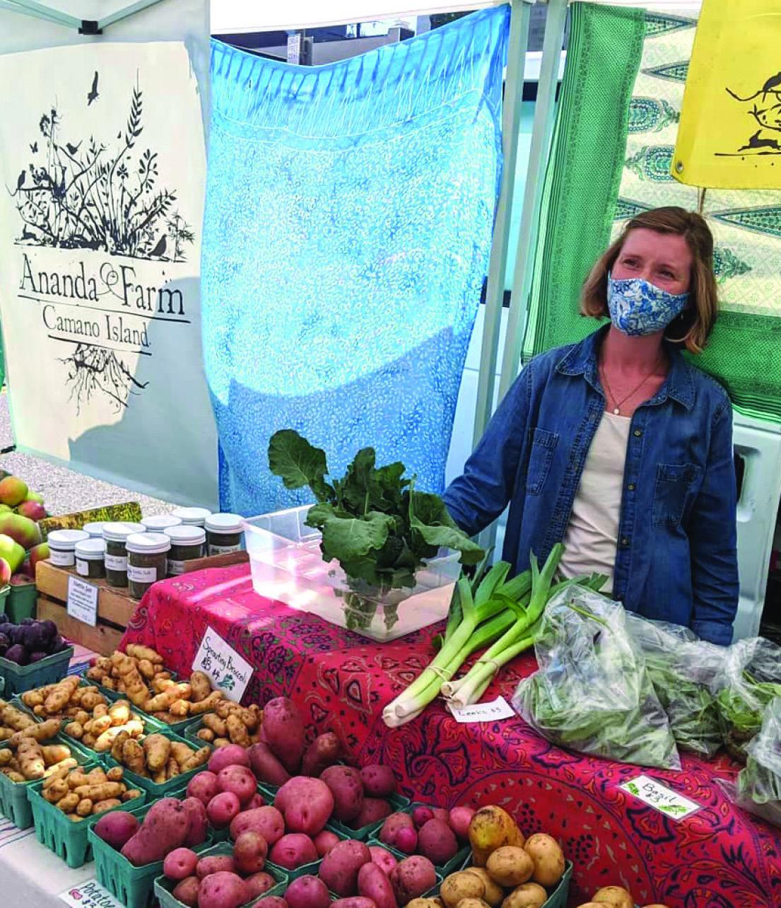 Ananda Farm on Camano Island greets market-goers