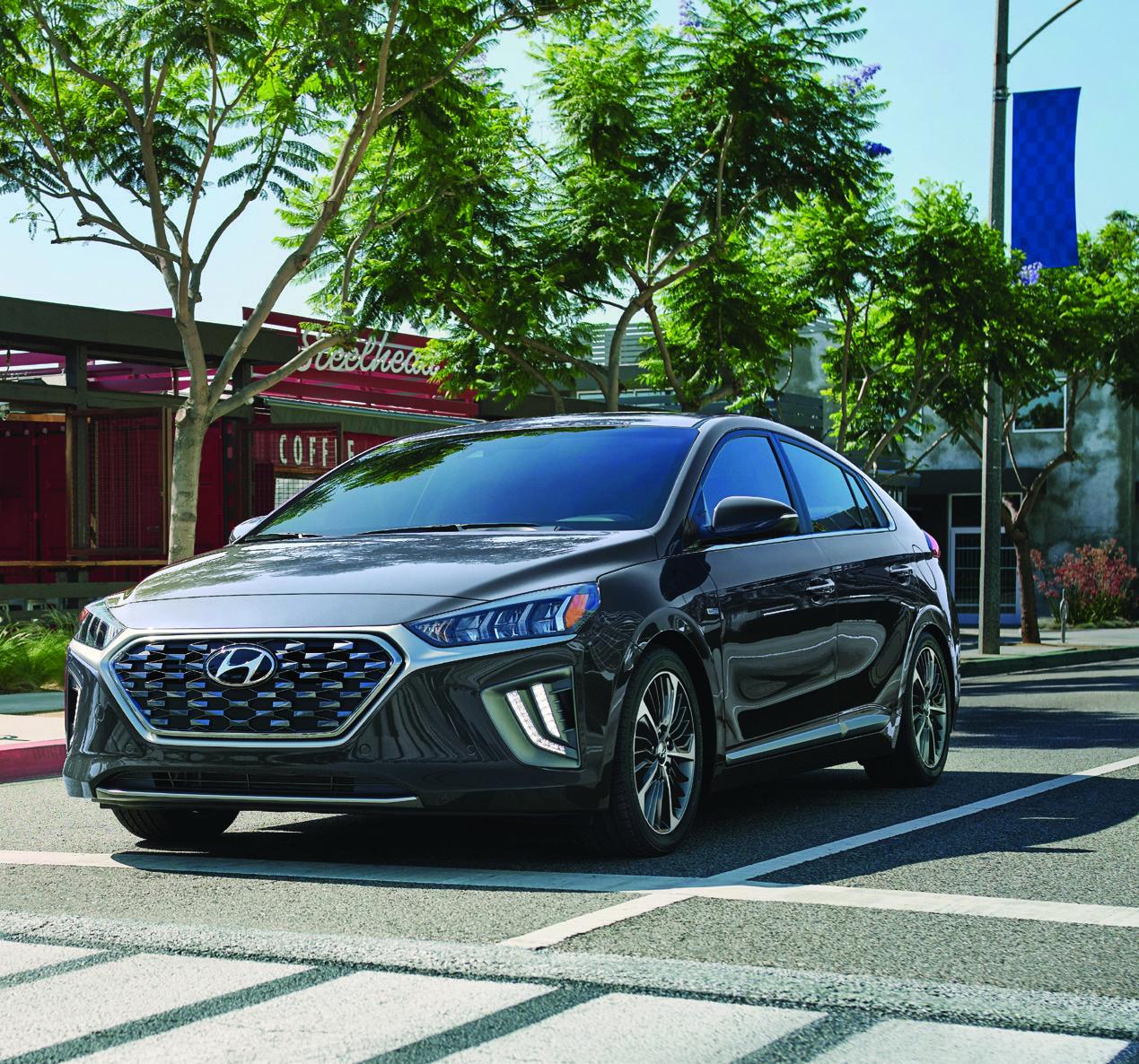 Hyundai Nexo runs on hydrogen