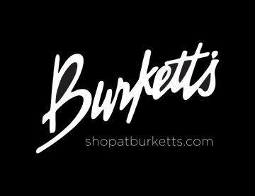burketts logo black